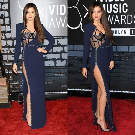 Selena Gomez in Atelier Versace Fall 2013 Collection