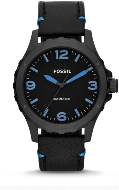 Black Nate Fossil Watch, image courtesy of Lividini $115.00