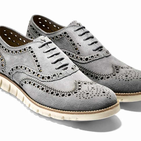 Cole Haan_ZeroGrand Wing Oxford_Ironstone 1