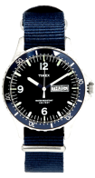 Timex x J.Crew Available on http://www.mrporter.com/en-us/mens/timex_x_jcrew/timex-andros-steel-watch/486295