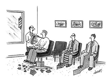 tom-cheney-men-with-oversized-neckties-in-barber-shop-getting-them-trimmed-new-yorker-cartoon