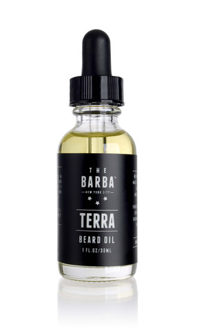 http://www.thebarbanyc.com/products/terra-beard-oil