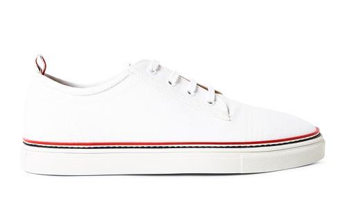 http://www.mrporter.com/en-us/mens/thom_browne/striped-canvas-sneakers/511340