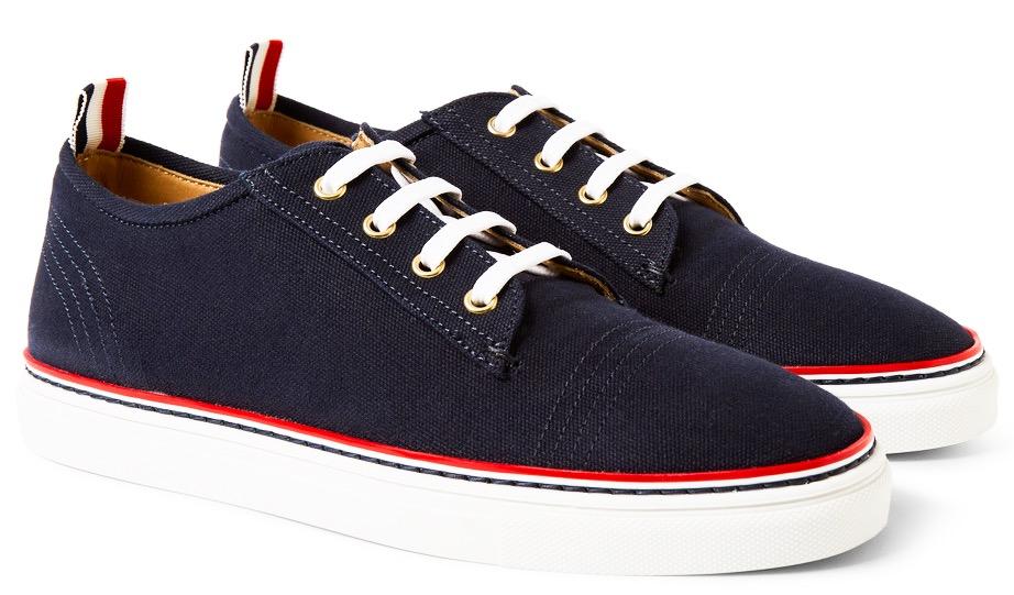 http://www.mrporter.com/en-us/mens/thom_browne/canvas-sneakers/511341