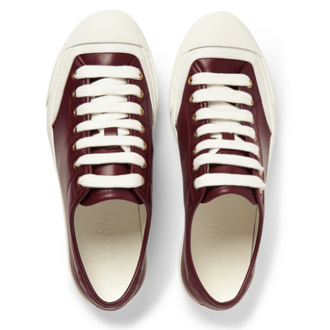 http://www.mrporter.com/en-us/mens/gucci/crocodile-trimmed-leather-sneakers/512537