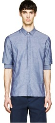 https://www.ssense.com/en-us/men/product/krisvanassche/blue-chambray-gathered-sleeve-shirt/884703