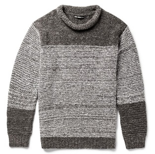 http://www.mrporter.com/en-us/mens/issey_miyake/striped-wool-blend-boucle-sweater/587914