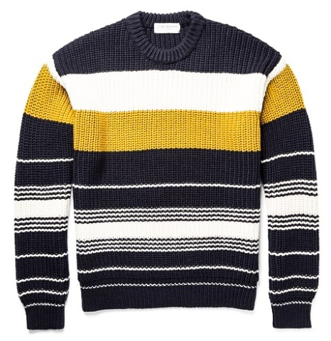 http://www.mrporter.com/en-us/mens/tomorrowland/chunky-knit-striped-wool-sweater/591194