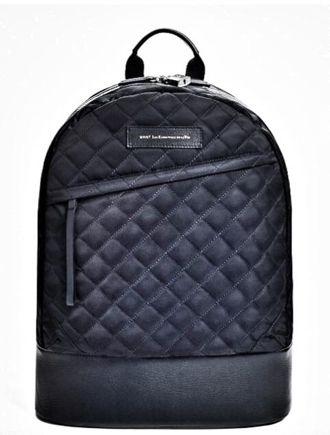 http://www.wantlesessentiels.com/us_en/kastrup-navy-quilt-leather-trim-backpack?color=347