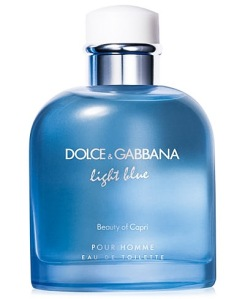 Dolce&Gabbana Light Blue Beauty of Capri | Price: $55 / 40ml, $68 / 75ml, $78 / 125ml